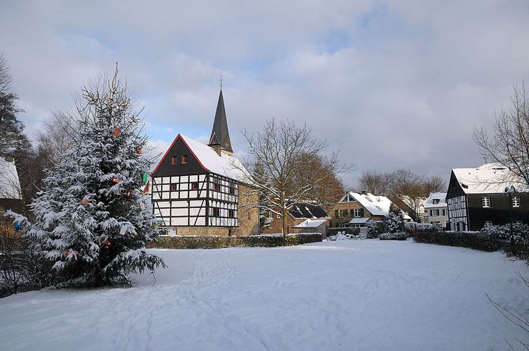 Haan-Gruiten in wintertime