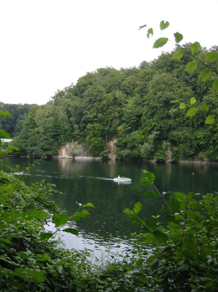 "Blauer See (""blue lake"") near Ratingen"