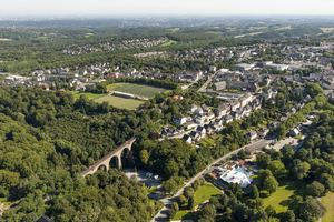 Velbert from above, © Hans Blossey